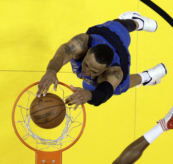 MIAMI, FL - JUNE 02:  Shawn Marion #0 of the Dallas Mavericks dunks the ball in the first half while taking on the Miami Heat in Game Two of the 2011 NBA Finals at American Airlines Arena on June 2, 2011 in Miami, Florida. NOTE TO USER: User expressly ack