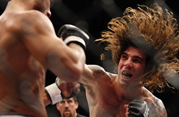 Clay Guida is a caveman