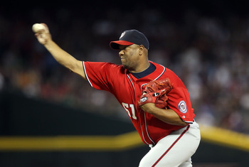 Livan Hernandez is surely a workhorse.