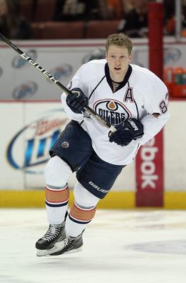 Oilers Winger Ales Hemsky