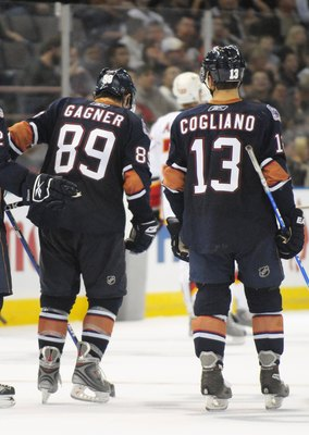 Oilers Duo Cogliano and Gagner