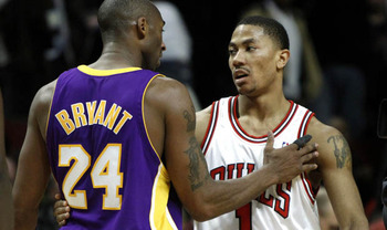 Seeing Kobe Bryant and Derrick Rose in the Finals may be one of the more exciting matchup's in recent memory. That is, If the Bulls can finally overcome the Heat, and the Lakers their shooting and chemistry woes.