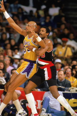Abdul Jabbar hold the top spot and the NBA's greatest middle man.