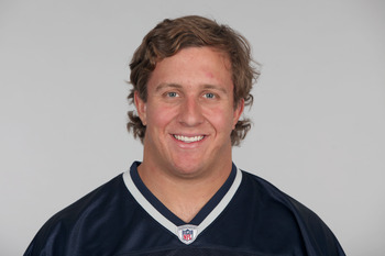 FOXBOROUGH, MA - CIRCA 2010: In this handout image provided by the NFL,  Ted Larsen of the New England Patriots poses for his 2010 NFL headshot circa 2010 in Foxborough, Massachusetts. (Photo by NFL via Getty Images)