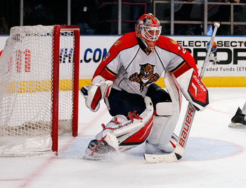 Tomas Vokoun has toiled away in Florida the last four seasons.
