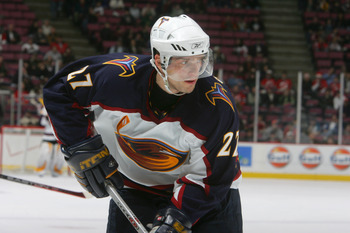 Patrik Stefan: the first ever Atlanta Thrashers first round draft pick