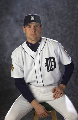 24 Feb 2002:   A portrait of RHP Matt Anderson #14 during the Detroit Tigers media day at Marchant Stadium in Lakeland, FloridaDIGITAL IMAGE Photographer:  M. David Leeds/Getty Images