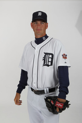 LAKELAND, FL - FEBRUARY 21:  Jacob Turner #50 of the Detroit Tigers poses for a portrait during Photo Day on February 21, 2011  at Joker Marchant Stadium in Lakeland, Florida.  (Photo by Nick Laham/Getty Images)