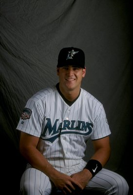 21 Feb 1998:  Josh Booty of the Florida Marlins at Spring Training at the Space Coast Stadium in Viera, Florida. Mandatory Credit: Craig Melvin  /Allsport