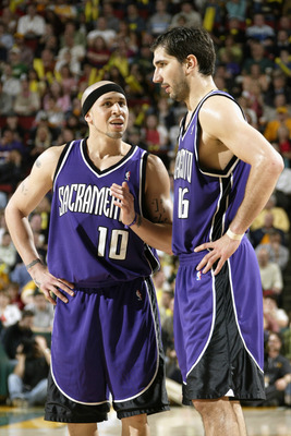 Stojakovic and Bibby