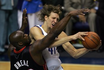 Nowitzki and Shaq