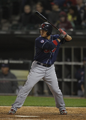 CHICAGO, IL - MAY 19:  Shin-Soo Choo #17 of the Cleveland Indians prepares to bat against the Chicago White Sox at U.S. Cellular Field on May 19, 2011 in Chicago, Illinois.  The Whiute Sox defeated the Indians 8-2.  (Photo by Jonathan Daniel/Getty Images)