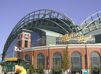 Miller Park may be just a baseball facility, but could easily convert to an indoor football field
