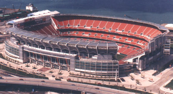 Browns Stadium in Cleveland may be a dark horse.