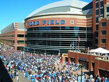 Ford Field has already hosted the NCAA basketball championships as well as a Super Bowl