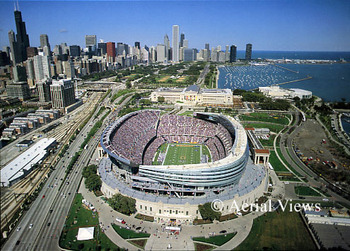 Chicago, a great city that is also Big Ten headquarters.