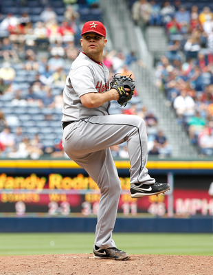 ATLANTA, GA - MAY 17:  Wandy Rodriguez #51 of the Houston Astros against the Atlanta Braves at Turner Field on May 17, 2011 in Atlanta, Georgia.  (Photo by Kevin C. Cox/Getty Images)