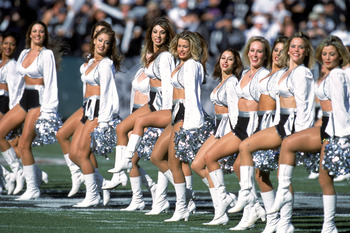 The best, most beautiful cheerleaders in the business.