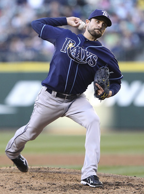 SEATTLE - JUNE 03:  Starting pitcher Andy Sonnanstine #21 of the Tampa Bay Rays pitches against the Seattle Mariners at Safeco Field on June 3, 2011 in Seattle, Washington. (Photo by Otto Greule Jr/Getty Images)