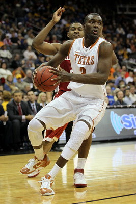 KANSAS CITY, MO - MARCH 10:  Jordan Hamilton #3 of the Texas Longhorns drives with the ball against the Oklahoma Sooners during their quarterfinal game in the 2011 Phillips 66 Big 12 Men's Basketball Tournament at Sprint Center on March 10, 2011 in Kansas