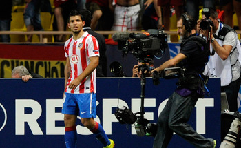 Atletico Madrid's Sergio Aguero: Everyone's Watching Him