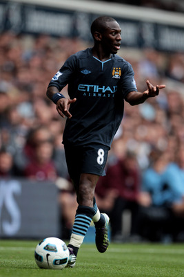LONDON, ENGLAND - AUGUST 14:  Shaun Wright-Phillips of Manchester City in action during the Barclays Premier League match between Tottenham Hotspur and Manchester City at White Hart Lane on August 14, 2010 in London, England.  (Photo by Phil Cole/Getty Im