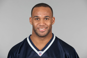 FOXBOROUGH, MA - CIRCA 2010: In this handout image provided by the NFL,  Bret Lockett of the New England Patriots poses for his 2010 NFL headshot circa 2010 in Foxborough, Massachusetts. (Photo by NFL via Getty Images)