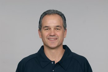 BALTIMORE - 2009:  Chuck Pagano of the Baltimore Ravens poses for his 2009 NFL headshot at photo day in Baltimore, Maryland. (Photo by NFL Photos)