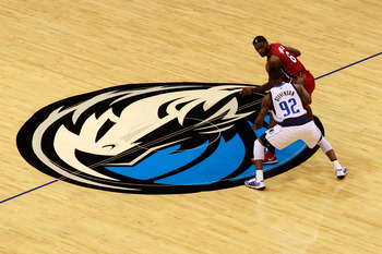 DALLAS, TX - JUNE 07:  LeBron James #6 of the Miami Heat moves the ball against DeShawn Stevenson #92 of the Dallas Mavericks in Game Four of the 2011 NBA Finals at American Airlines Center on June 7, 2011 in Dallas, Texas. NOTE TO USER: User expressly ac