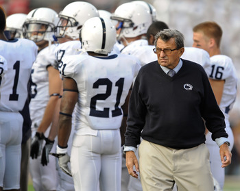 Joe Paterno is entering his 61st year on the coaching staff of Penn State.