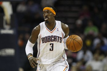 CHARLOTTE, NC - NOVEMBER 6:  Gerald Wallace #3 of the Charlotte Bobcats drives the ball up court during the game against the Atlanta Hawks on November 6, 2009 at Time Warner Cable Arena in Charlotte, North Carolina.  The Bobcats won 103-83.  NOTE TO USER: