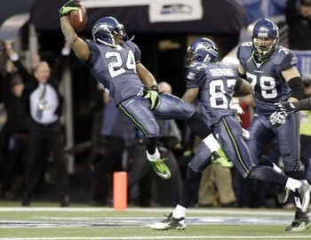 Marshawn Lynch Wild Card Magic