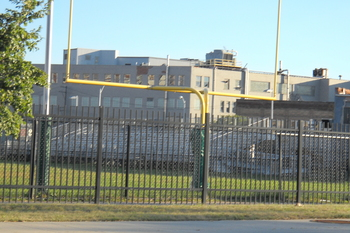 Cass Tech's football stadium (Photo: Joel Greer)