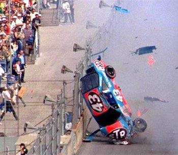 Car Crash Richard Petty Car Crash