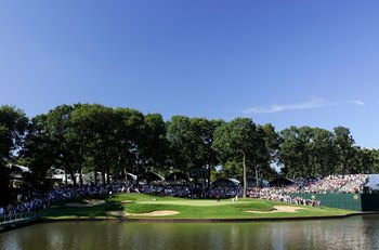 MEDINAH, IL - AUGUST 20:  The 13th hole is seen during the final round of the 2006 PGA Championship at Medinah Country Club on August 20, 2006 in Medinah, Illinois.  (Photo by Stuart Franklin/Getty Images)