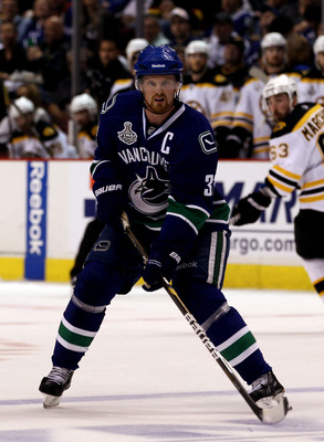 Vancouver captain Henrik Sedin has not been a factor against Boston