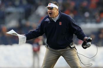 Head Coach of the Syracuse Orange, Doug Marrone