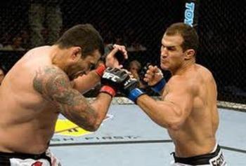 JDS destroying Fabricio Werdum in his UFC debut