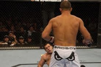 Gabriel Gonzaga had no answer for the power of JDS