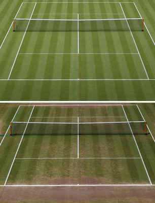 Centre Court Before and After...