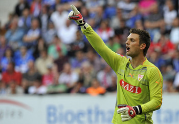 Sven Ulreich, VfB Stuttgart: walking in Lehmann's shoes.