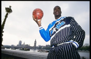 Undated: Shaquille O'Neal of the Orlando Magic.