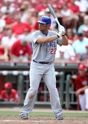 CINCINNATI, OH - JUNE 08:  Carlos Pena #22  of the Chicago Cubs is at bat during the game against the Cincinnati Reds at Great American Ball Park on June 8, 2011 in Cincinnati, Ohio.  (Photo by Andy Lyons/Getty Images)