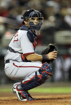 PHOENIX, AZ - JUNE 03:  Catcher Ivan Rodriguez #7 of the Washington Nationals in action during the Major League Baseball game against the Arizona Diamondbacks at Chase Field on June 3, 2011 in Phoenix, Arizona.  The Diamondbacks defeated the Nationals 4-0
