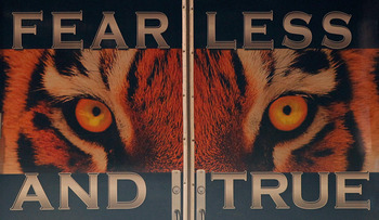 AUBURN, AL - OCTOBER 23:  A view of the doors to the locker room of the Auburn Tigers before facing the LSU Tigers at Jordan-Hare Stadium on October 23, 2010 in Auburn, Alabama.  (Photo by Kevin C. Cox/Getty Images)