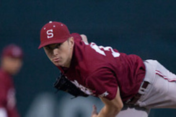 Stanford pitcher Chris Reed is the latest No. 1 pick of the Dodgers but despite his talents, he wasn't the most appealing player left on the board