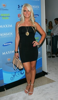 MIAMI BEACH, FL - FEBRUARY 02:  Singer Brook Hogan arrives to Maxim's Pre-Super Bowl XLI Party at the Sagamore Hotel  on February 2, 2007 in Miami Beach, Florida.  (Photo by Evan Agostini/Getty Images)