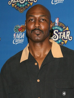 NEW ORLEANS - FEBRUARY 17: Basketball player Karl Malone arrives at the 57th NBA All-Star Game, part of 2008 NBA All-Star Weekend at the New Orleans Arena on February 17, 2008 in New Orleans, Louisiana.  NOTE TO USER: User expressly acknowledges and agree