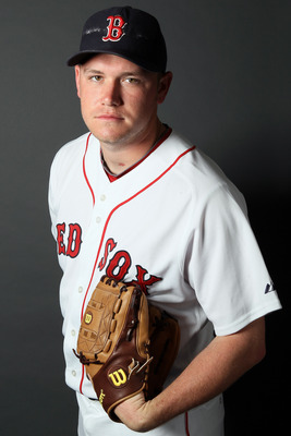 FT. MYERS, FL - FEBRUARY 20:  Alex Wilson #89 of the Boston Red Sox poses for a portrait during the Boston Red Sox Photo Day on February 20, 2011 at the Boston Red Sox Player Development Complex in Ft. Myers, Florida  (Photo by Elsa/Getty Images)