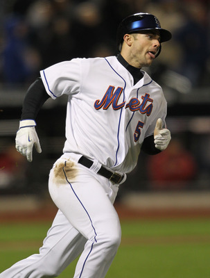 NEW YORK, NY - APRIL 21:  David Wright #5 of the New York Mets rounds the bases on his fourth inning solo home run against the Houston Astros at Citi Field on April 21, 2011 in the Flushing neighborhood of the Queens borough of New York City.  (Photo by N